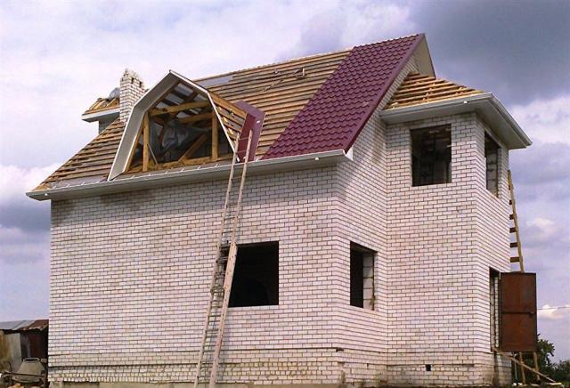 Предложение: Работы по крыше, кровле, фасаду