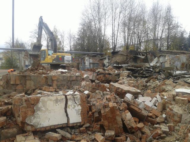 Предложение: Снос, демонтаж домов, сооружений