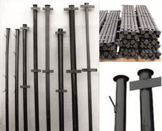 Продам столбы металлические для забора