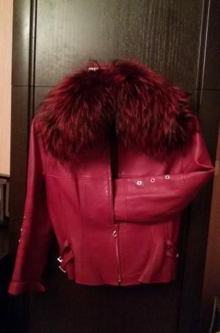 Продам Куртка кожа.