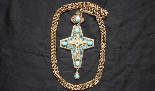 Продам: Наградной наперсный крест с украшениями