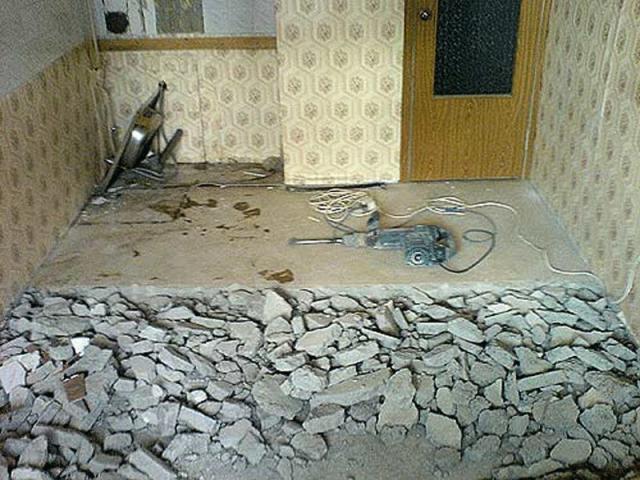 Предложение: Демонтажные работы в помещении
