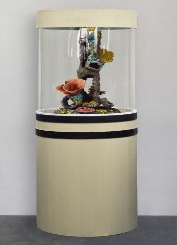 Продам Аквариум- колонна на 90л