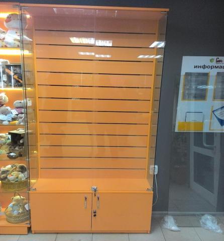 Продам Витрина стеклянная эконом панель