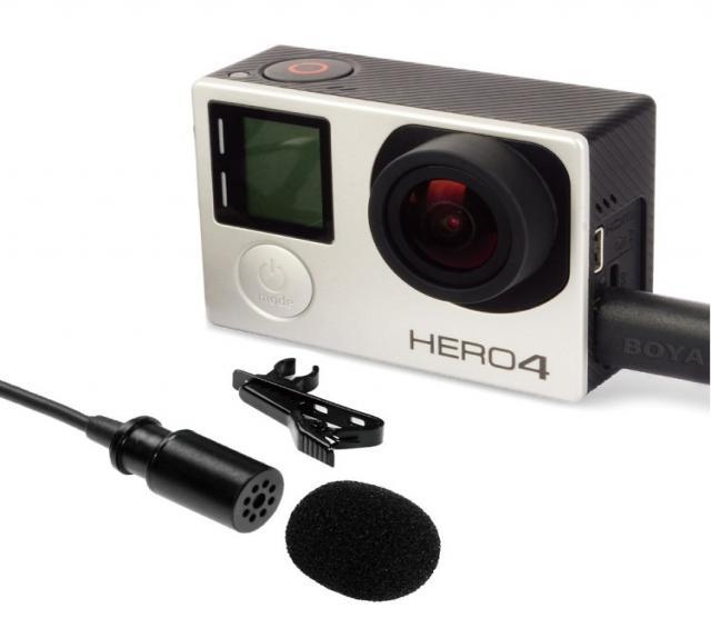 Продам BOYA BY-GM10 Петличный микрофон GoPro