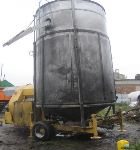 Продам Мобильная зерносушилка Mecmar БУ