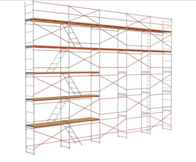 Предложение: Аренда лесов строительных рамных ЛРСП-30
