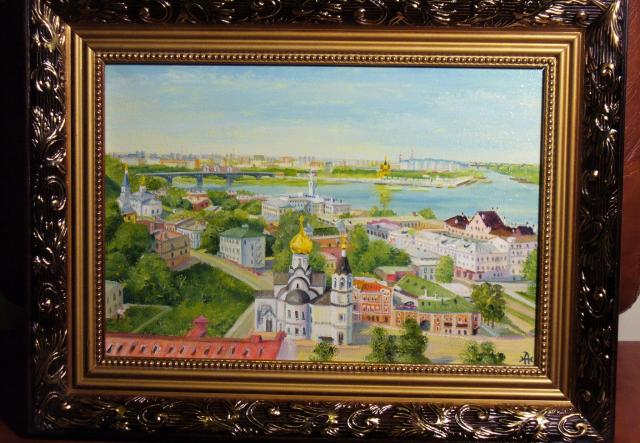 Продам Картины с нижним новгородом и пейзажами