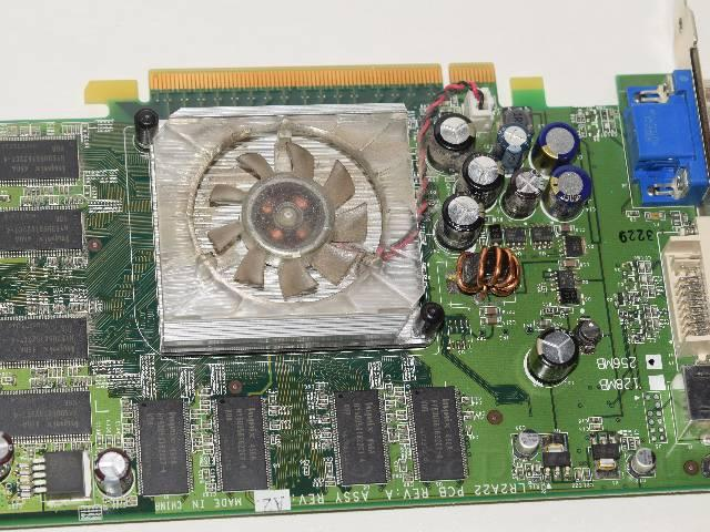 Отдам даром: Видеокарта WinFast PX6600 TD 256 MB