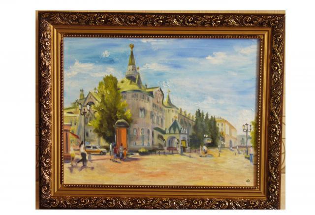 Продам картина с нижегородским госбанком