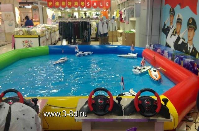 Продам Водный аттракцион, морской бой с катерам