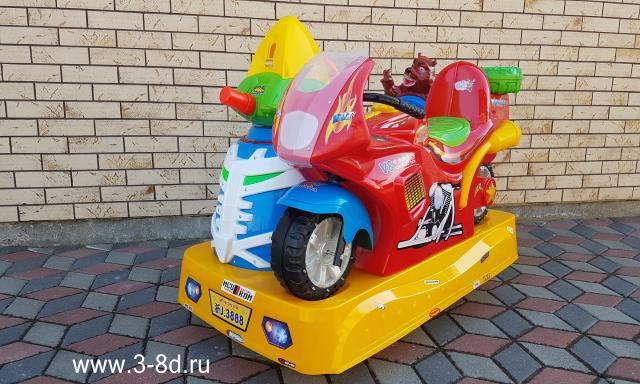 Продам Аттракцион качалка мотоцикл с пузырями