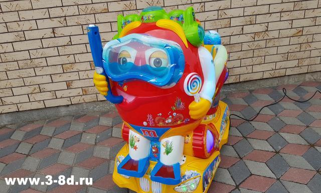 Продам Детский аттракцион качалка водолаз