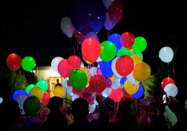 Предложение: Воздушные шары на выпускной вечер