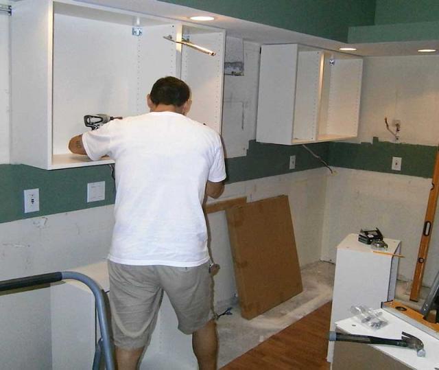 Предложение: сборка разборка кухонного гарнитура