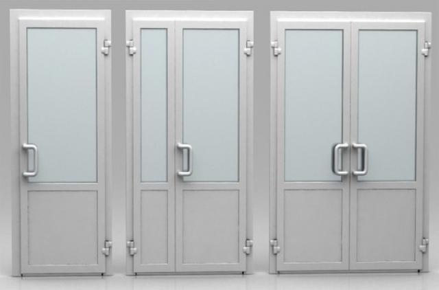 Продам Двери алюминиевые