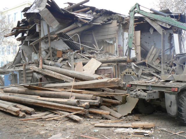 Предложение: демонтаж любых строений