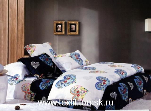 Продам DeLux-Satin Tango постельное бельё сатин