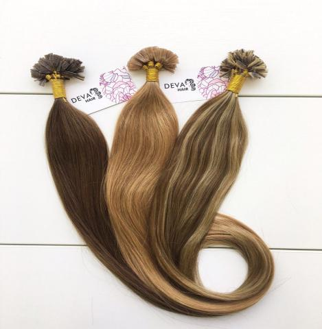 Продам Натуральные волосы на капсулах
