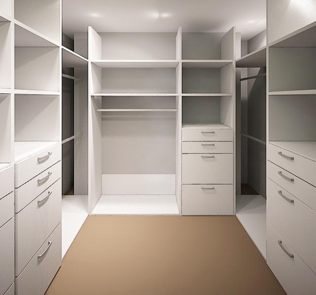 Предложение: Гардеробные комнаты на заказ.