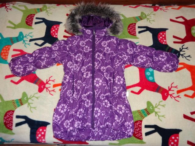 Продам куртка зимняя lassie (размер 104)