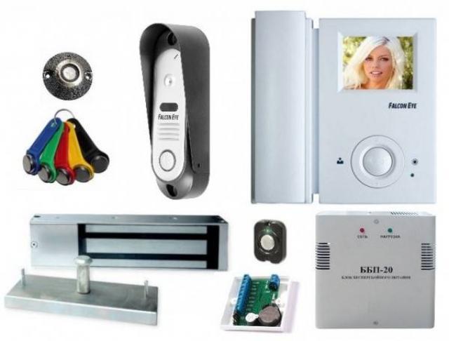 Предложение: Установка видео и аудио домофонов