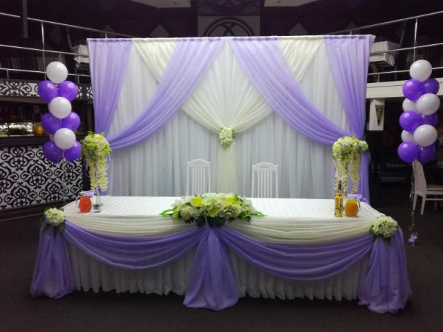 Предложение: Пpoведение и оформление свадеб, юбилеев