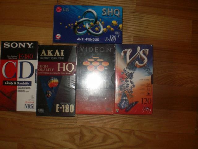 Продам видеокассеты новые запечатаны