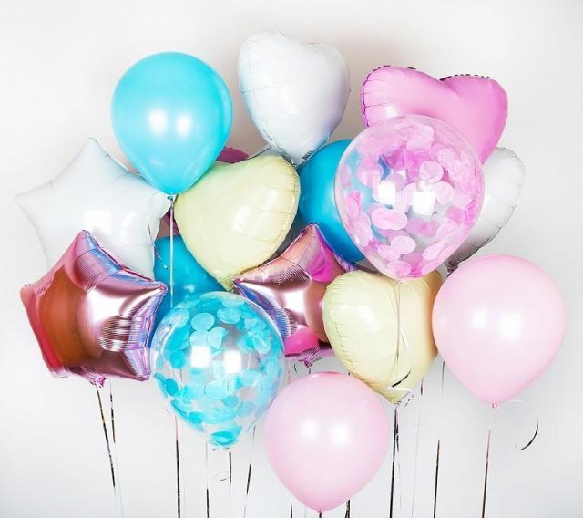 Предложение: Гелиевые шары с доставкой. Круглосуточно