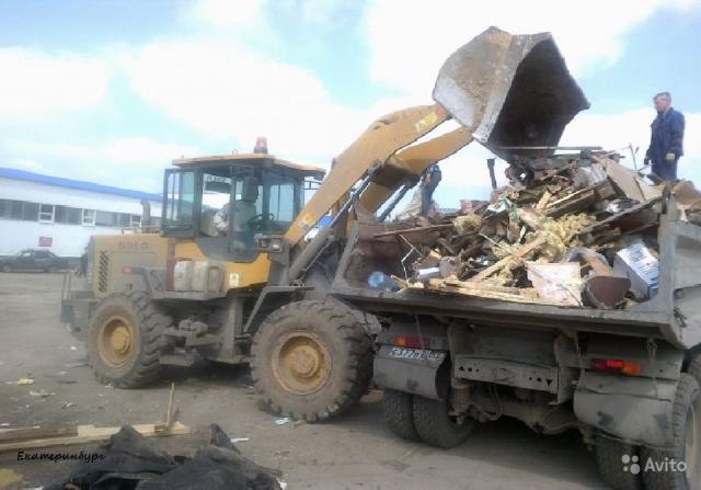 Предложение: Вывоз мусора на самосвале Камаз. Уфа