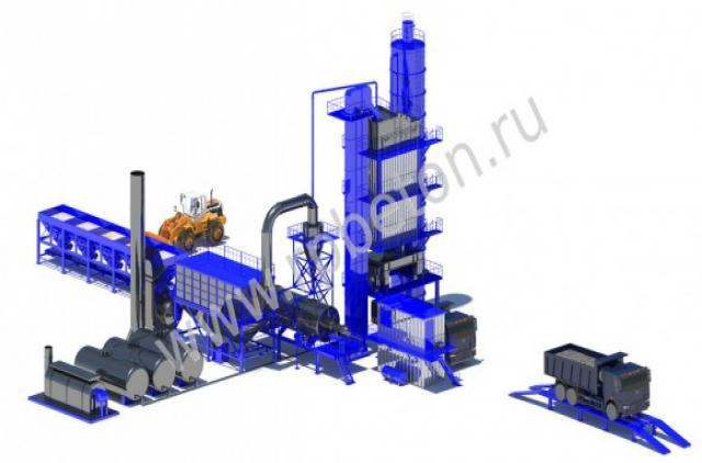 Продам Асфальтобетонный завод LBG600
