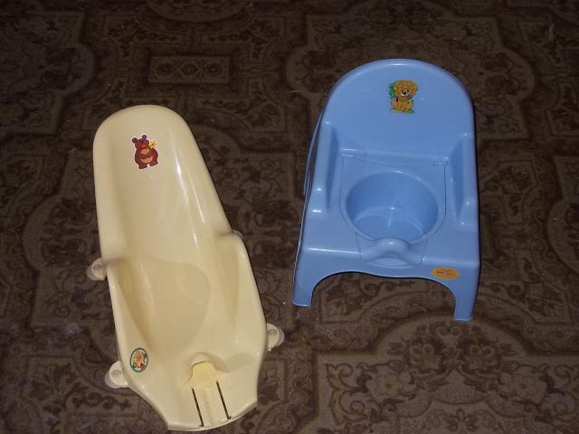 Продам: Горка для купания с регулир. и стульчик