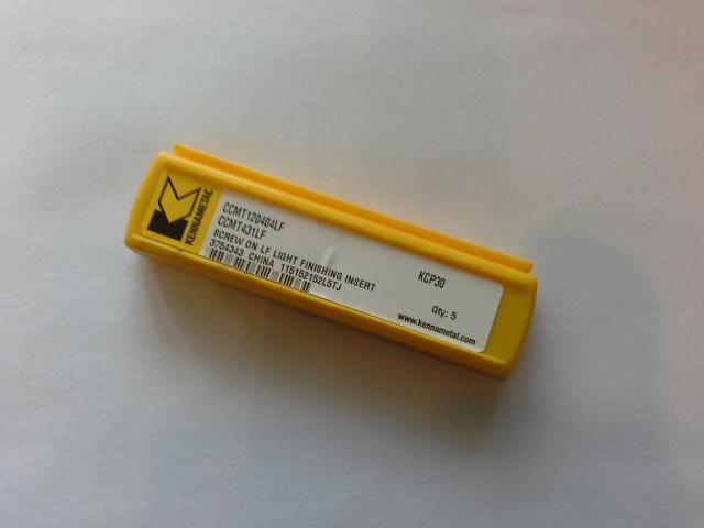 Продам: пластины токарные CCMT120404LF KCP30