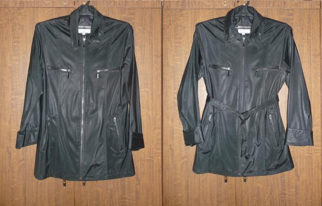 Продам Куртка из плащевой ткани c поясом