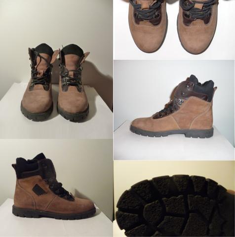 Продам Ботинки на шнуровке из натуральной замши