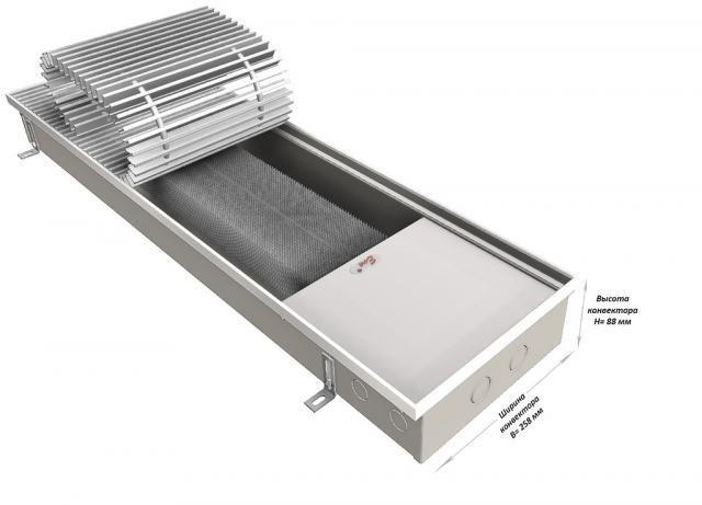 Продам Купить внутрипольный конвектор отопления