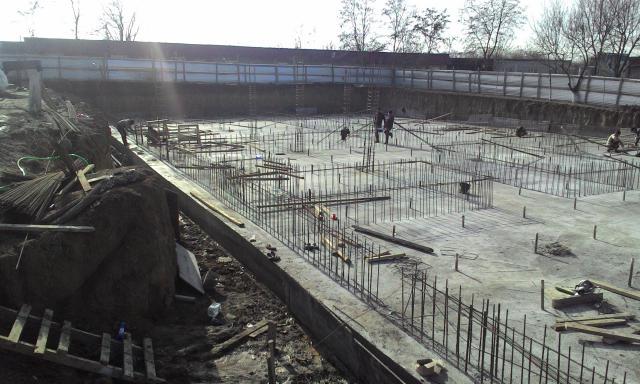 Предложение: фундамент плита