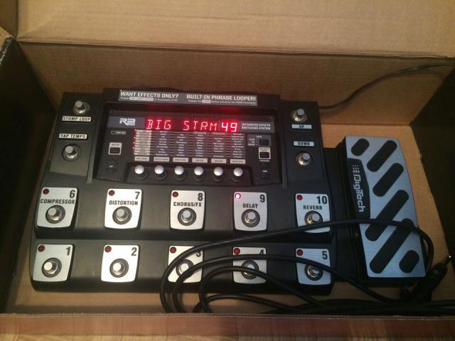 Продам Гитарная педаль Digitech RP1000(эффекты)
