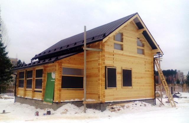 Предложение: Строительство срубов, домов, бан
