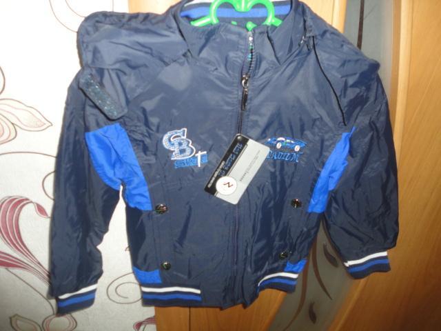 Продам Курточка ветровка новая на 3-4 года