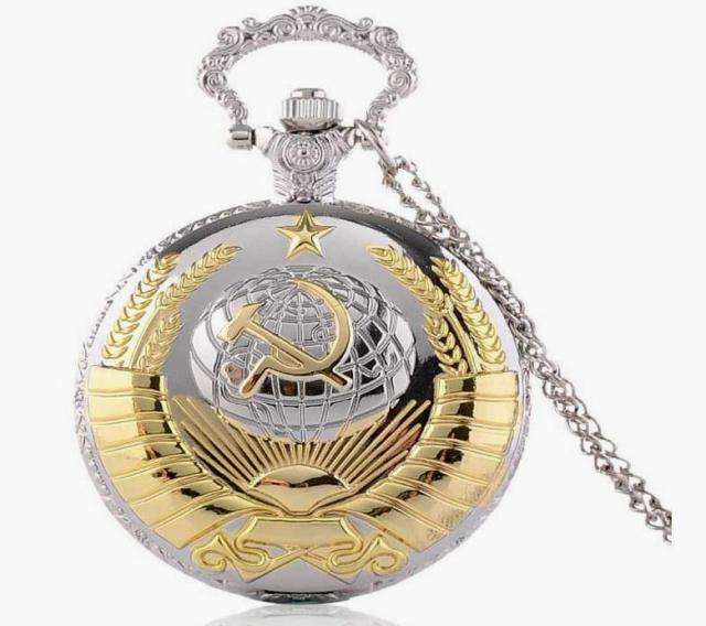 Продам часы с объёмным Гербом СССР