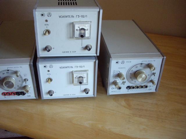 Продам 2 усилитель для генератора Г3-112\1