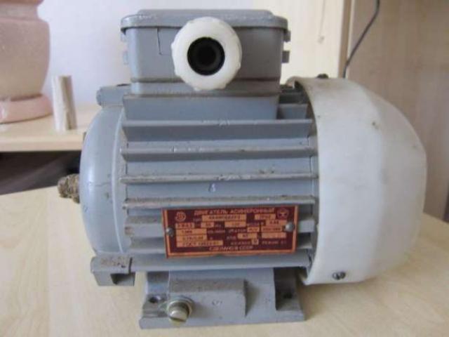 Продам электродвигатель трехфазный 4ААМ56А4У3