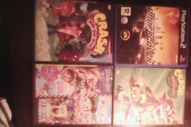 Продам: гору дисков с играми на Playstation 2
