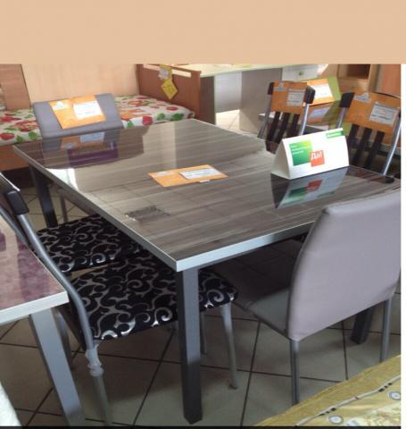 Продам стол стеклянный новый