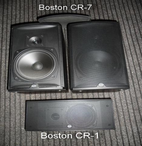 Продам Колонки Boston Acoustics CR1 и CR7