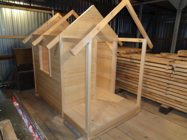 Продам детские деревянные домики