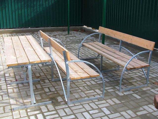 Продам дачные лавочки и столы с бесплатной дост