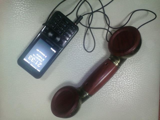 Продам телефонная гарнитура в стиле ретро