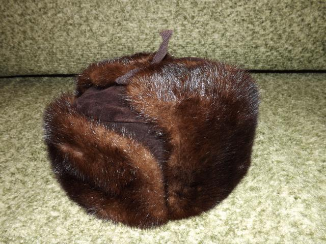 Продам шапку норковую